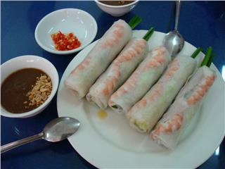 Vietnamese wrap-and-roll dishes of three regions