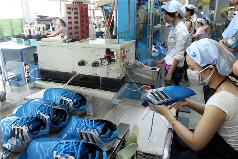 A factory in Vietnam operated under FDI inflow