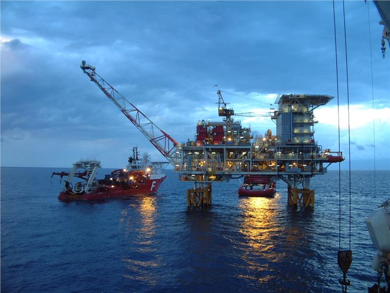An Oil rig of Vietnam