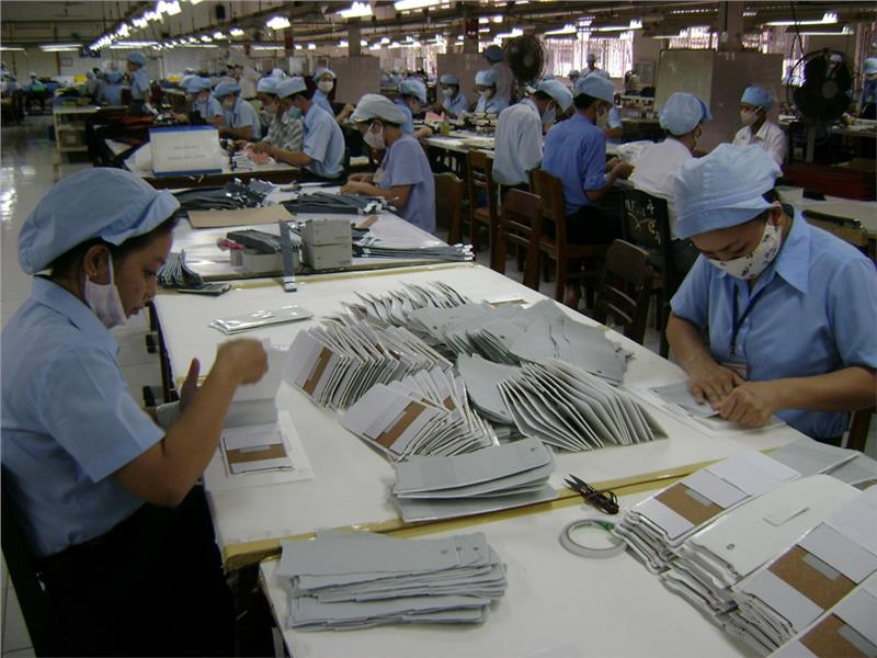 An small enterprise in Vietnam