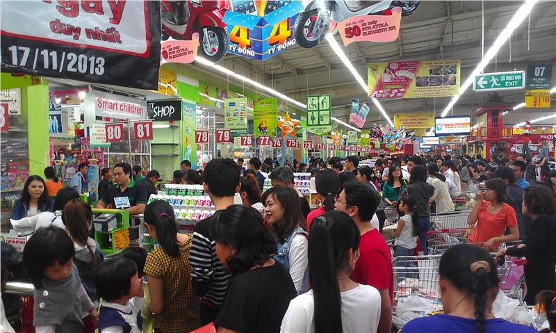 BigC - a strong supermarket system in Vietnam
