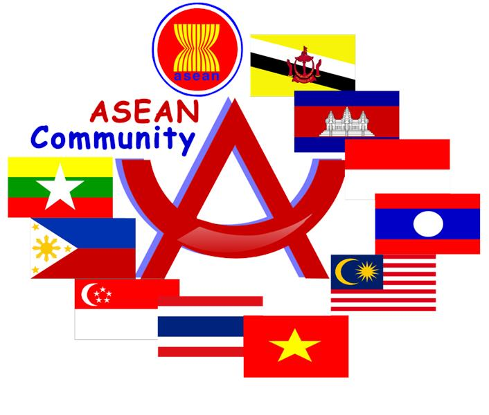 Countries in ASEAN community