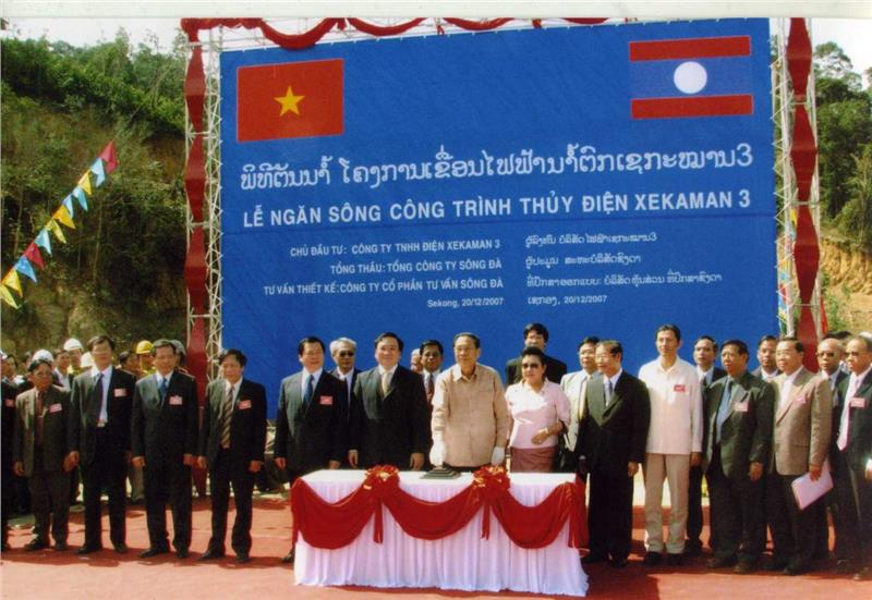 Ground BreakingCeremony of Song Da Group in Laos