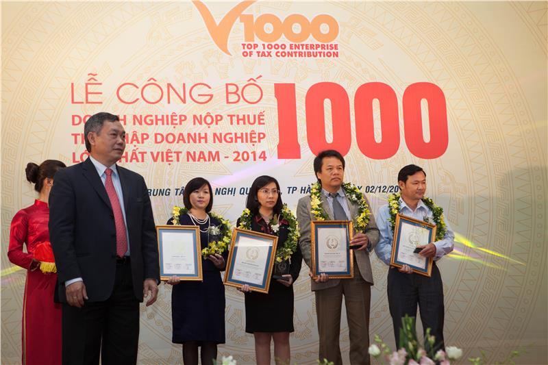 Top Vietnam enterprises contribute higest tax