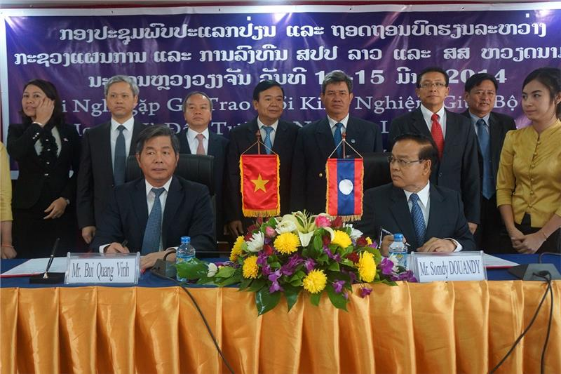 Vietnam - Lao cooperation in planning and investment