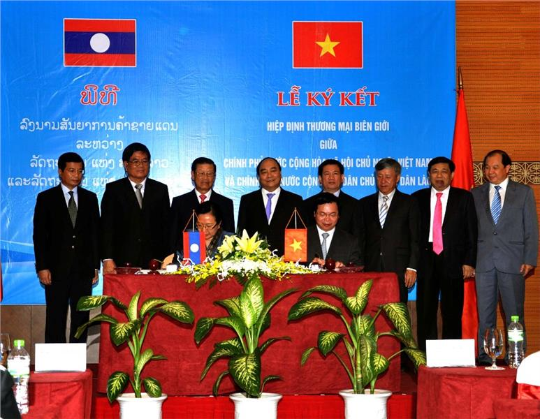 Vietnam - Laos economic cooperation
