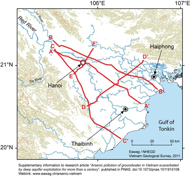Red River Delta Vietnam geography overview