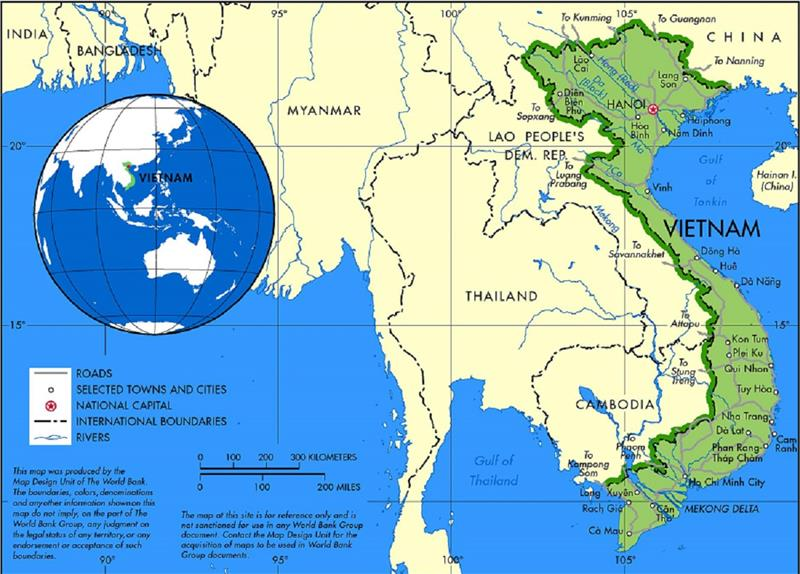 Vietnam geography overview