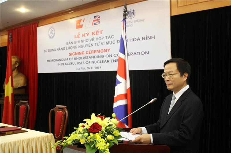 Vietnam - UK science and technology cooperation