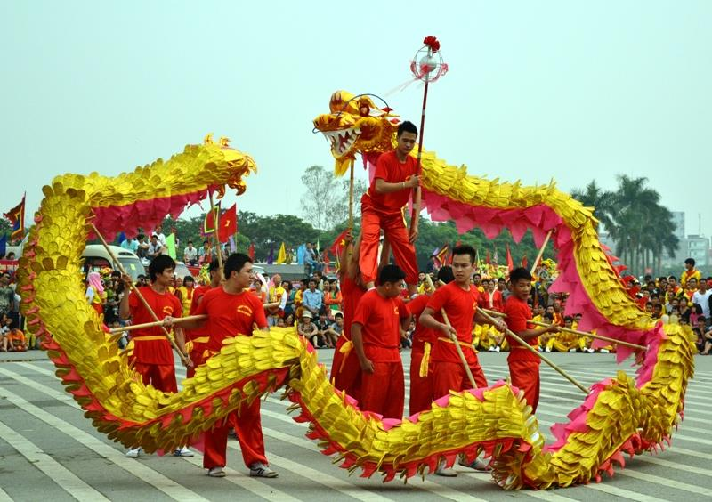 Dragon Dance Festival 2014 in Hanoi