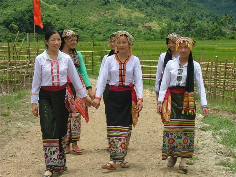 Ethnic people in Nghe An