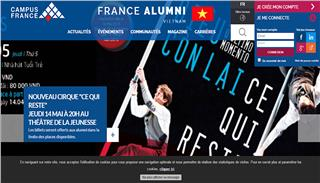 France Alumni Vietnam website launched