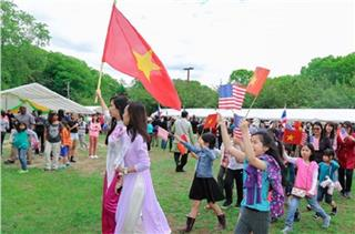 Vietnamese culture in Cultural Heritage Festival in New York