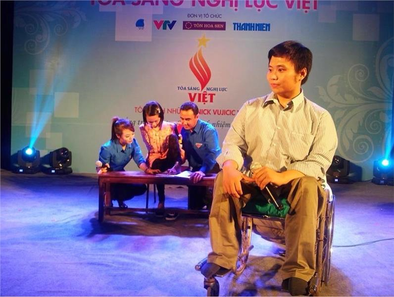 Typical example in Shining Vietnam Fortitude Gala