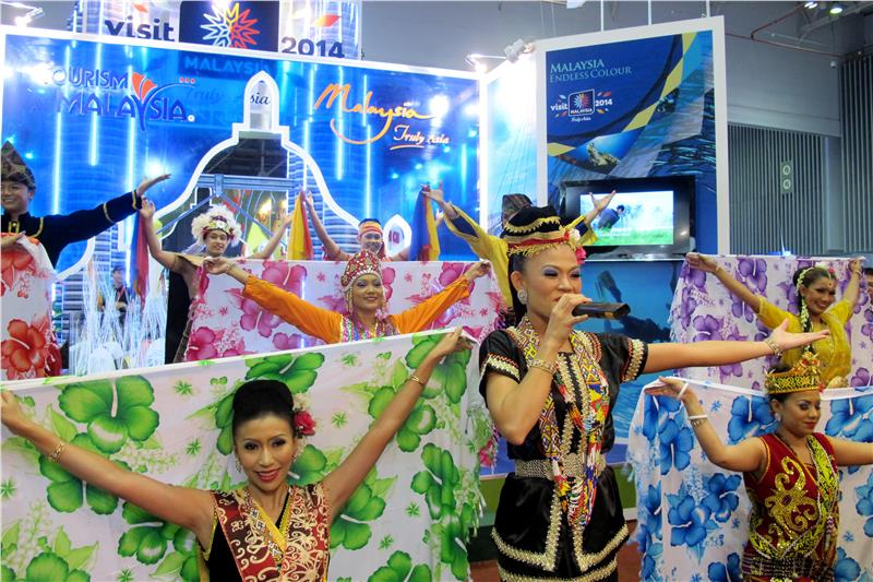 Malaysia tourism promoted in the exhibition