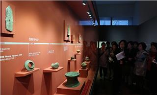 Ancient Vietnamese culture exhibited in Korea