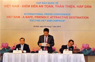 Exciting Vietnam campaign holds press conference